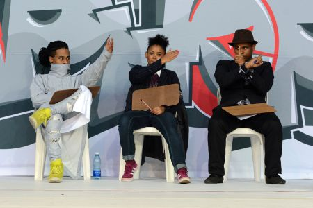 HIP HOP BATTLES - Judges